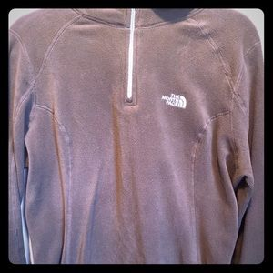 The North Face brand 1/4 Zip Pullover Fleece